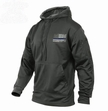 Thin Blue Line Concealed Carry Hoodie-Grey