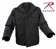 M-65 Soft Shell Tactical Jacket-Black