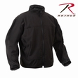 Covert Special OPS Soft Shell Jacket: Black