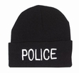 Embroidered Watch Cap-Police
