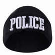 Embroidered Watch Cap Deluxe-Police