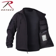 Concealed Carry Soft Shell Jacket-Black