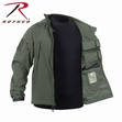 Concealed Carry Soft Shell Jacket- Olive Drab