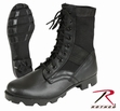 Black G.I. Type Steel Toe Jungle Boot