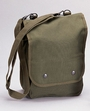 Shoulder Bag: Canvas Map Case Olive Drab