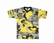 Camo Tee- Stinger Yellow