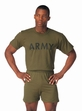 Physical Training Wear: Olive Drab Army Tee