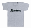 Physical Training  Wear: Grey Marines Tee