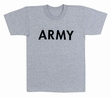 Physical Training  Wear: Army Grey Tee