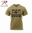 "Coyote Brown ""This Is My Rifle"" T-Shirt"