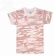 Kids Camouflage T-Shirt: Subdued Pink