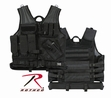 Tactical Vest: M.O.L.L.E. Cross Draw Black