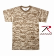 Kids Camouflage T-Shirt  Desert Digital