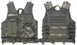 Tactical Vest: M.O.L.L.E. Cross Draw ACU