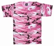 Kids Camouflage T-Shirt Pink Camo
