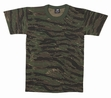 Camo Tee- Tiger Stripe