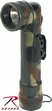 Flashlights: G.I. Type Angle Head-Woodland Camo