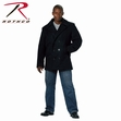 Rothco Black U.S. Navy Type Peacoat