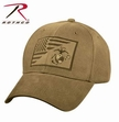 Deluxe Low Profile Coyote USMC Flag Cap