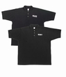 Police or Security Polo Shirts-Black