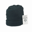 Genuine Wool Watch Cap-Black