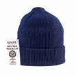 Genuine Wool Watch Cap-Navy Blue