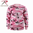 Long Sleeve Tee: Pink Camo
