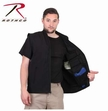 Concealed Carry Soft Shell Vest: Black