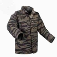 M-65 Field Jacket: Tiger Stripe Camo
