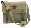 Khaki Vintage Medic Bag with Star