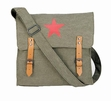 Shoulder Bag: Classic Sage Medic with Star