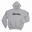 Physical Training  Wear: Grey Marines Hoodie