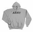 Physical Training  Wear: Grey Army Hoodie