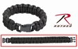 Paracord Bracelet:  Black