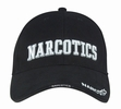 Deluxe Low Profile Law Caps: Narcotics
