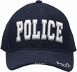 Deluxe Low Profile Law Caps: Police Navy Blue