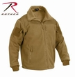 SPEC OPS Tactical Fleece Jacket-Coyote Brown