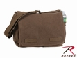 Shoulder Bag: Classic Messenger Bag Brown