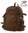 Vintage Brown Compact Backpack