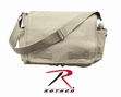 Shoulder Bag: Classic Messenger Bag Khaki